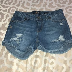 EUC Girls Lucky Brand Denim Shorts